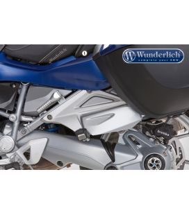 Protection pieds passager BMW R1250RT - Wunderlich Argent