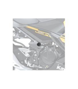 Bouchons de cadre Kawasaki Ninja 400 - Puig 9796N