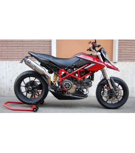 QUEUE CARBONE HYPERMOTARD ECHAPPEMENT LATERAL