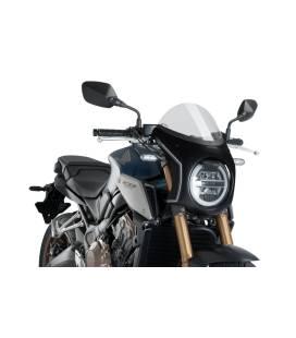 Carénage retro Honda CB650R Neo Sports Cafe - Puig Carbone
