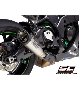Silencieux Kawasaki ZX10R - S1 SC Project K22-41T