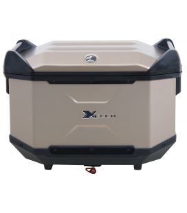Hepco-Becker top-case Xceed Titane 45 Litres