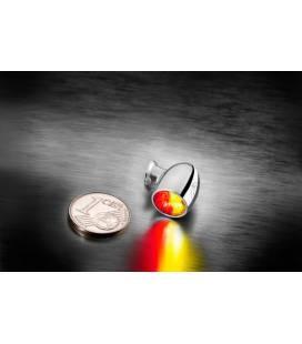 Micro Clignotant 3en1 à Led Bullet Atto - Kellermann
