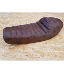 SELLE CAFE RACER BROWN TYPE 64 L : 60cms