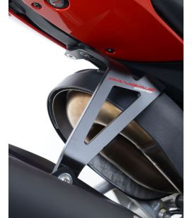 Patte fixation silencieux Ducati Panigale 959 - RG Racing EH0067BK