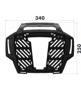 Support top-case F850GS Adventure - Hepco-Becker 6526520 01 01