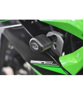 Tampons de protection Kawasaki Ninja 125 - RG Racing CP0381BL