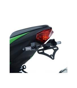 Support de plaque Kawasaki Ninja 125 - RG Racing LP0261BK