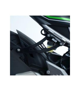Patte fixation silencieux Kawasaki Ninja 125 - RG Racing EH0090BK