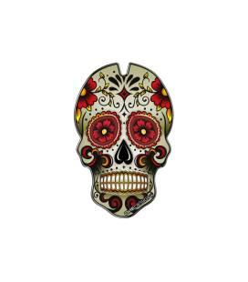 Protection de réservoir Puig Skull Rouge - 3673R