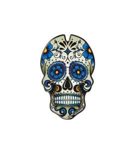 Protection de réservoir Puig Skull Bleu - 3673A