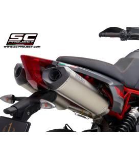 Silencieux Aprilia Dorsoduro 900 - SC Project Titane