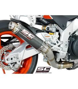 Silencieux Aprilia Tuono V4 17-18 / SC Project GP65
