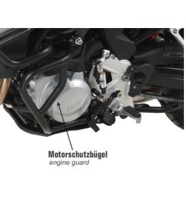 Pare carters BMW F750GS - Hepco-Becker Black