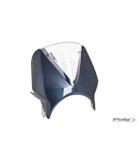 Bulle Royal Enfield Interceptor 650 - Puig Vision carbone