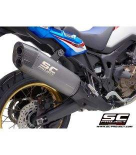 Silencieux CRF1000L Africa Twin - SC Project Titane Gris