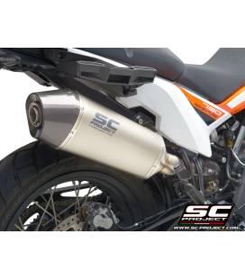 Silencieux titane KTM 790 Adventure - Xplorer SC Project KTM15-81T