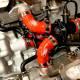 Durites de radiateur Rouges Ducati Panigale V4 - SAMCO