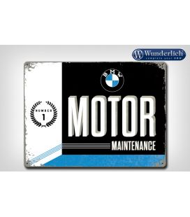 Plaque en tôle BMW Motor Maintenance - Wunderlich 25320-203