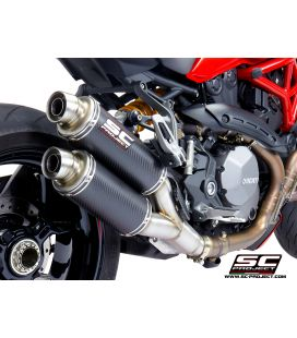 Silencieux Ducati Monster 1200R - SC Project Twin GP