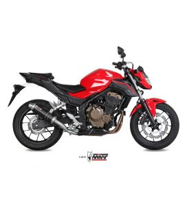 Silencieux Honda CB500F 2016-2018 / Mivv GP Noir