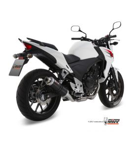 Silencieux Honda CB500X 13-15 / Mivv GP Noir