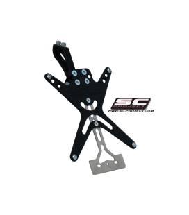 Support de plaque Ducati Hypermotard 796 / 1100 - SC Project