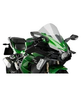 Ailerons de carénages Puig Downforce Kawasaki Ninja H2 SX