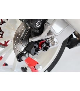 Protection axe de roue arrière BMW S1000RR - Gilles Tooling GTA-R-BM01