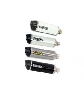 Silencieux Suzuki GSF650 Bandit 07-13 / Arrow Race-Tech embout carbone