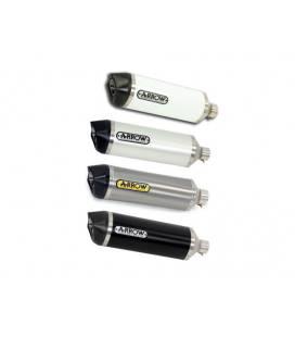 Silencieux Suzuki GSX650F - Arrow Race-Tech embout carbone