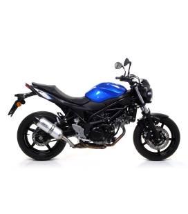 Silencieux Suzuki SV650 2016-2020 / Arrow Race-Tech Alu Carbone