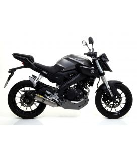 Échappement Yamaha MT125 / Arrow Thunder embout carbone
