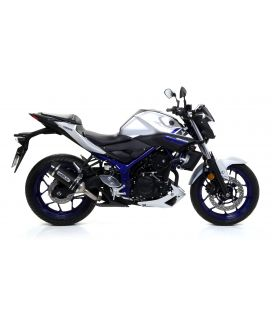 Silencieux Yamaha MT-03 / Arrow Thunder embout carbone
