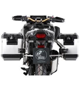 Valises Honda CRF1100L Adventure Sports - Hepco-Becker Xplorer Alu