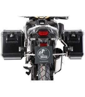 Valises Honda CRF1100L Adventure Sports - Hepco-Becker Xplorer Noir