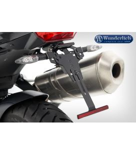 Support de plaque BMW F750GS - Wunderlich 25857-002