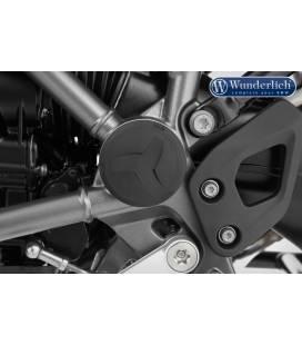 Kit capuchons de cadre BMW R1200GS/R1250GS / Wunderlich Noir - 42742-102