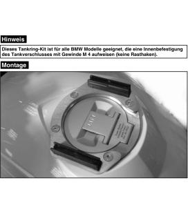 Support sacoche réservoir BMW R1200R - Hepco-Becker 506661 00 09