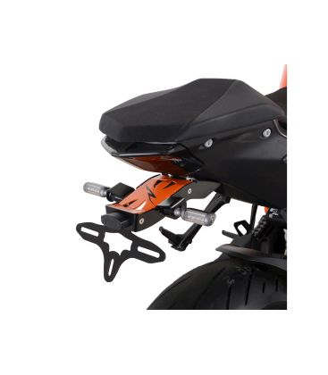 Support de plaque KTM 1290 Superduke - RG Racing LP0288BK-OR