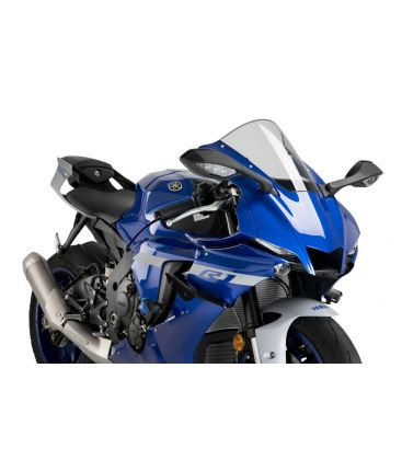 Ailerons de carénages noir Yamaha YZF-R1 2020 - Puig 20297A