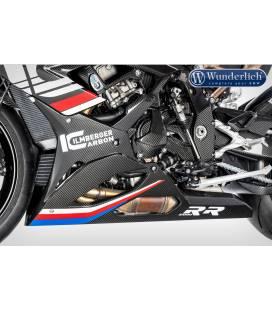 Sabot moteur carbone BMW S1000RR - Wunderlich 36220-501