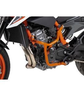 Protection moteur KTM 890 Duke R - Hepco-Becker Crashbar orange