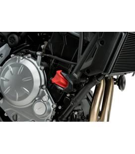 Gommes pour protection moteur R19 Puig 3148R