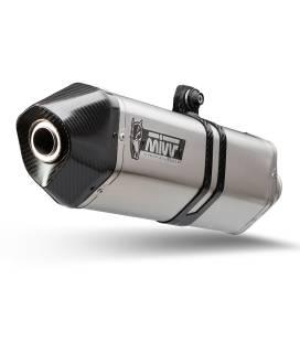 Silencieux Moto-Guzzi V85TT - Mivv Speed Edge Inox