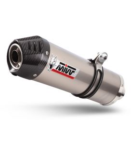 Silencieux Moto-Guzzi V85TT - Mivv Oval titane