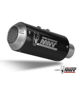 Silencieux Kawasaki Z900 2020- Mivv MK3 Carbone