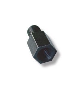 Adaptateur pour rétroviseur V PARTS mâle M8/125 (pas à droite)/femelle M8/125 (pas à gauche)