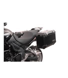 Supports valises Triumph Tiger 1050 - SW MOTECH EVO Noir