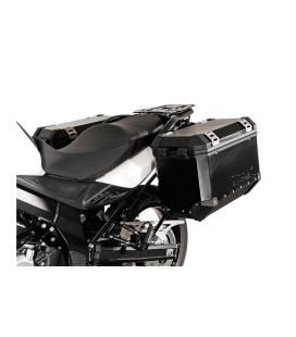 Supports valises Suzuki DL 650 - SW MOTECH EVO Noir